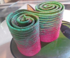 3d printing colorful hummmus