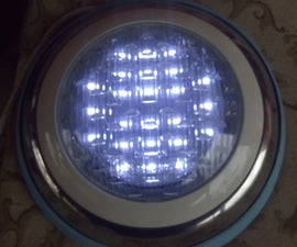 Swimming Pool Lights , Remaking Defective Lights for Solar Power