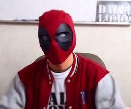 Semi-Rigid Deadpool Mask - Cereal Box & T-Shirt