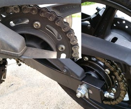 How to Clean, Lubricate, and Wax a Motorcycle Chain