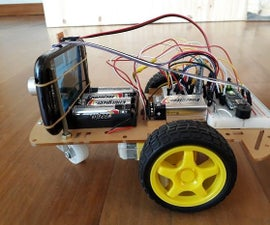 Robot Car With Bluetooth, Camera and MIT App Inventor2