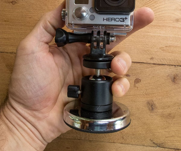 GoPro Magnetic Mini Ball Head Mount