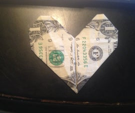 How To Make A Heart From A Dollar