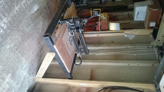 Build a Large Space Saving CNC Router for Under £600!