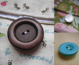 How to sew on a button!