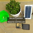 Remote Controlled & Solar Powered Watering System
