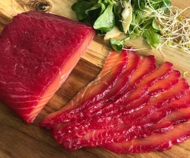 Home Beet-Cured Salmon