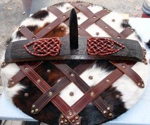 Make a Viking Shield From a Wine Barrel