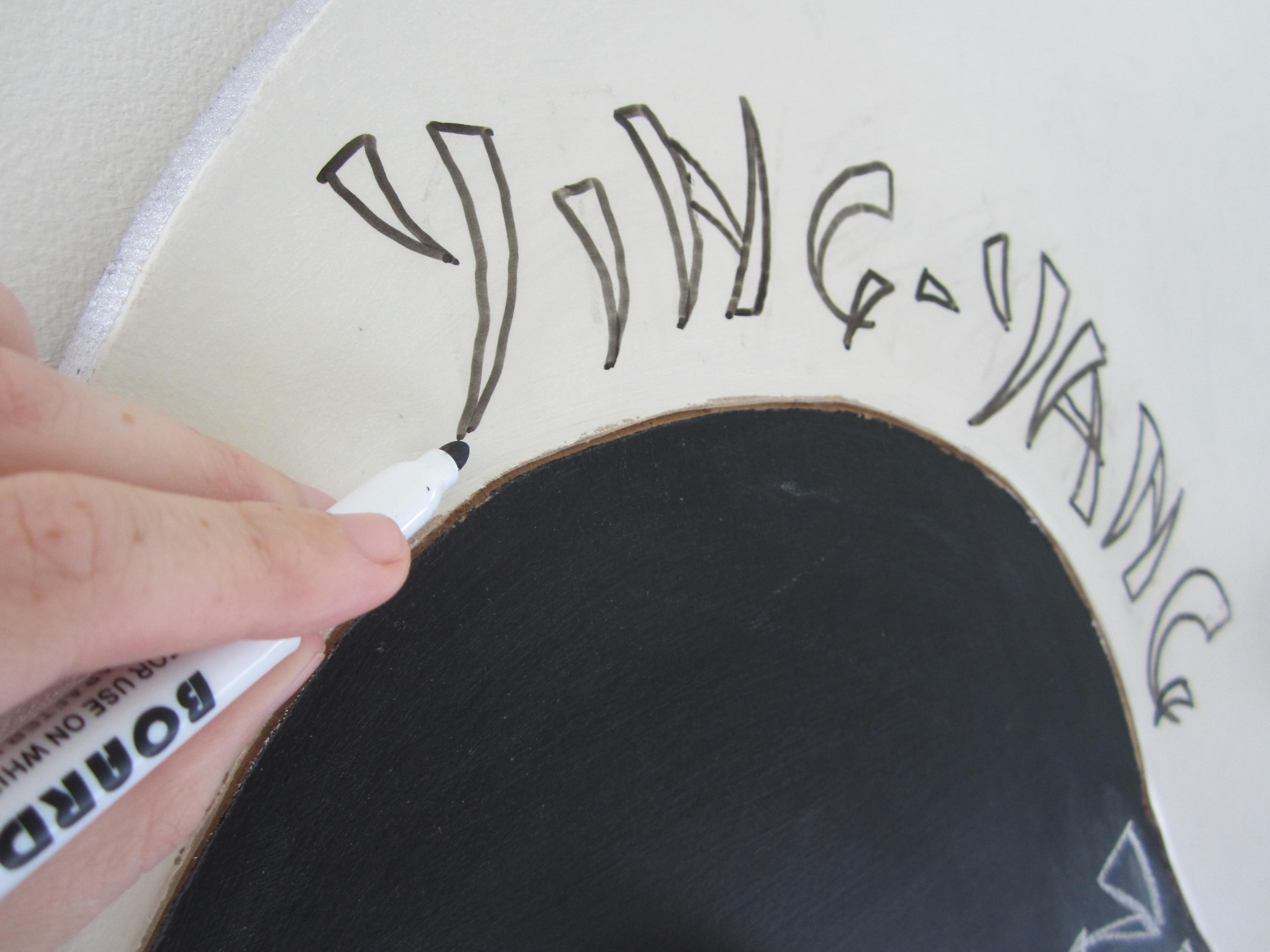 Picture of Ying Yang Zen Board