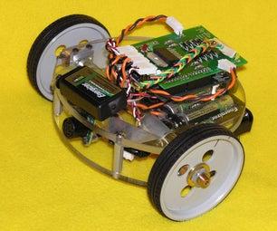 Make a Wall Avoiding Robot!