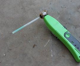 How to Make Gauss Gun From Lighter