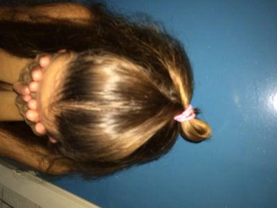 Stap 3: Verberg Je Haarscheiding