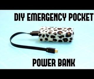 DIY Emergency Pocket Power Bank