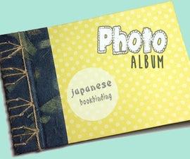 DIY Japanese Bookbinding Photo Album