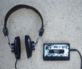 Cassette Tape MP3 Player