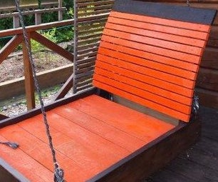 Garden Patio Swing Bed - When a Simple Hammock Just Won't Do!