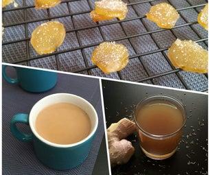 Ginger for Cold & Flu