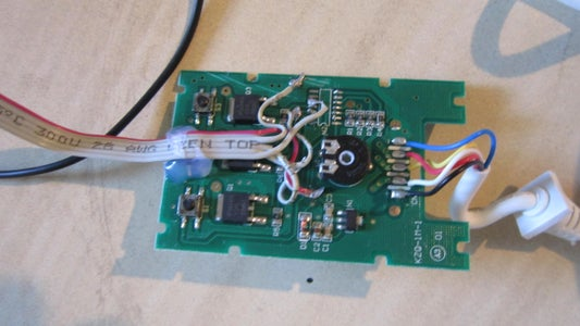 Building the Lamp: Soldering the Controller, Light String, Relay and Antenna