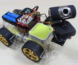 Smart WIFI Video Car( Arduino control )