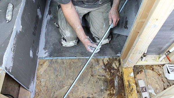 Picture of Fill-In Wedi Shower Pan Dado