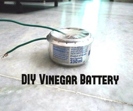 Reusable Vinegar Battery
