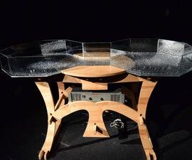 Cymatic water tank visualizer