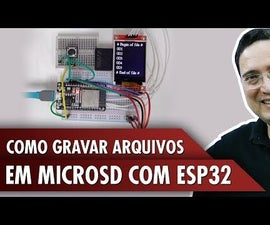 How to Burn MicroSD Files With ESP32