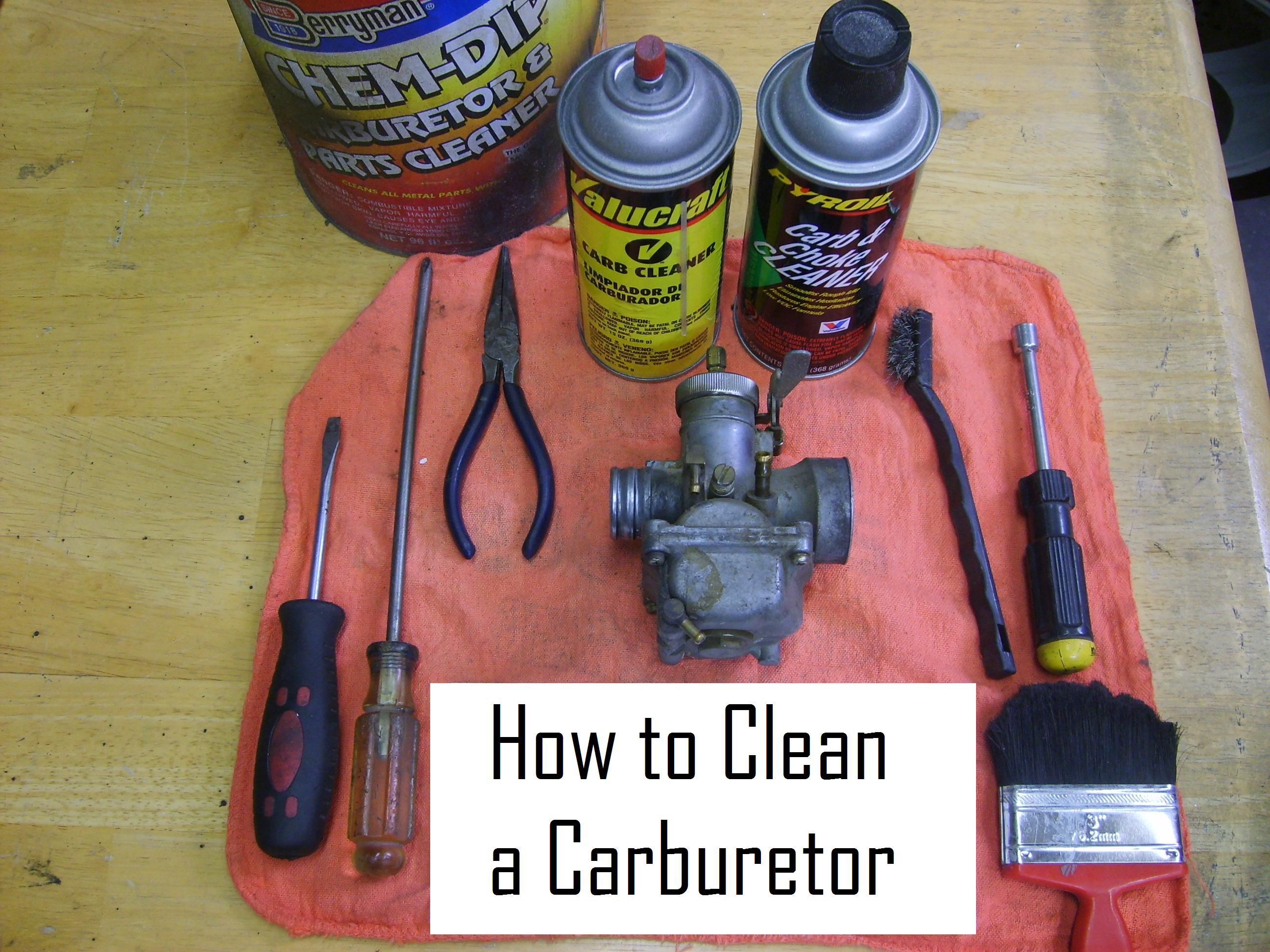 How To Clean Carburetor >> Cleaning A Carburetor In 8 Easy Steps 8 Steps