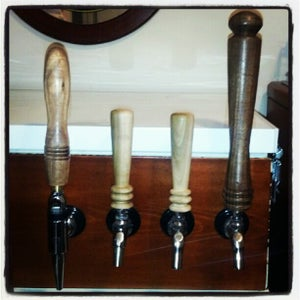 Turning a Custom Beer Tap Handle