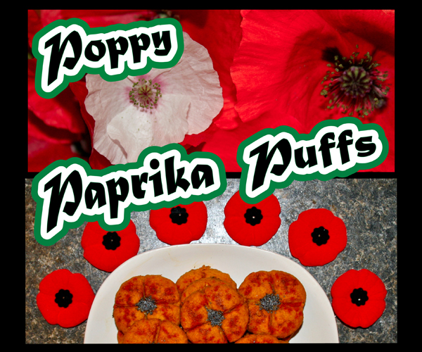 Picture of Poppy Paprika Puffs