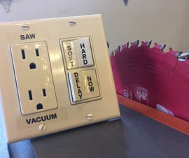 Table Saw Soft Starter With Option Output