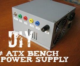 atx bench power supply diy