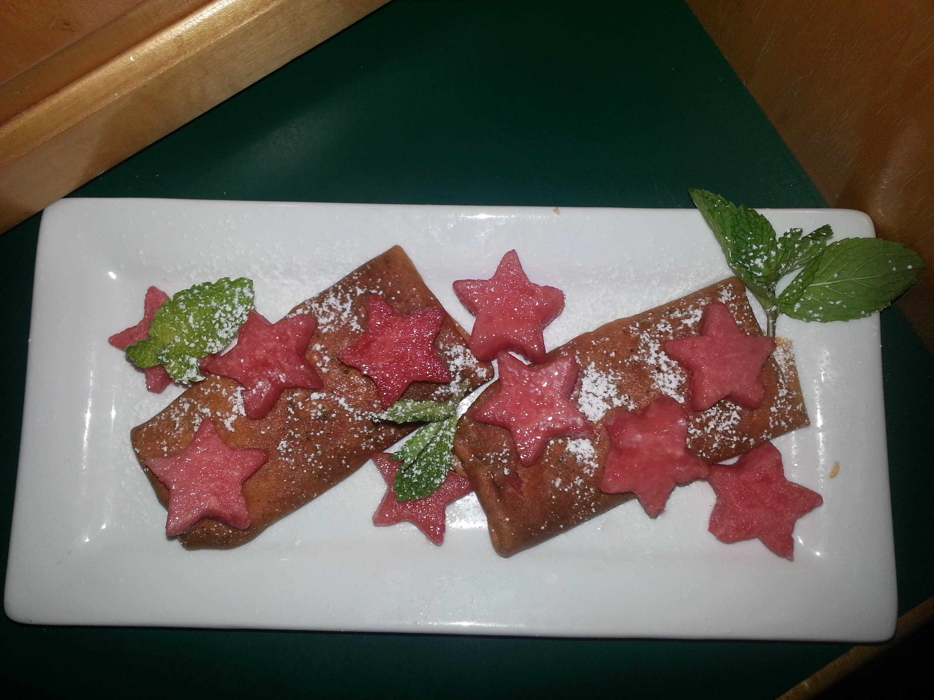 Picture of WATERMELON & CHERVIL CREPES