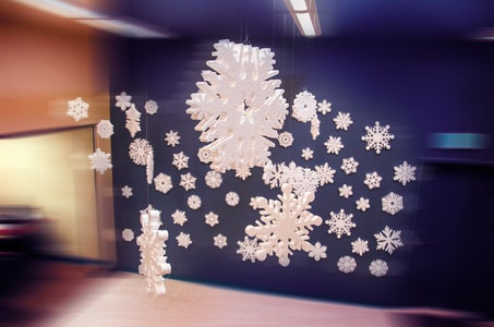 How to Make a Floating Snowflake
