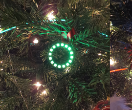 LED Pendent Christmas Tree Ornaments