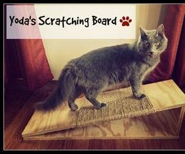 DIY Cat Scratching Board