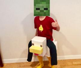 DIY Chicken Jockey Suit
