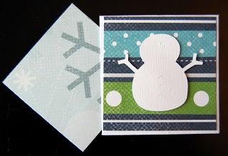 Snowman Envelope