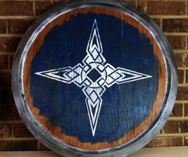 Build a Replica Skyrim Shield