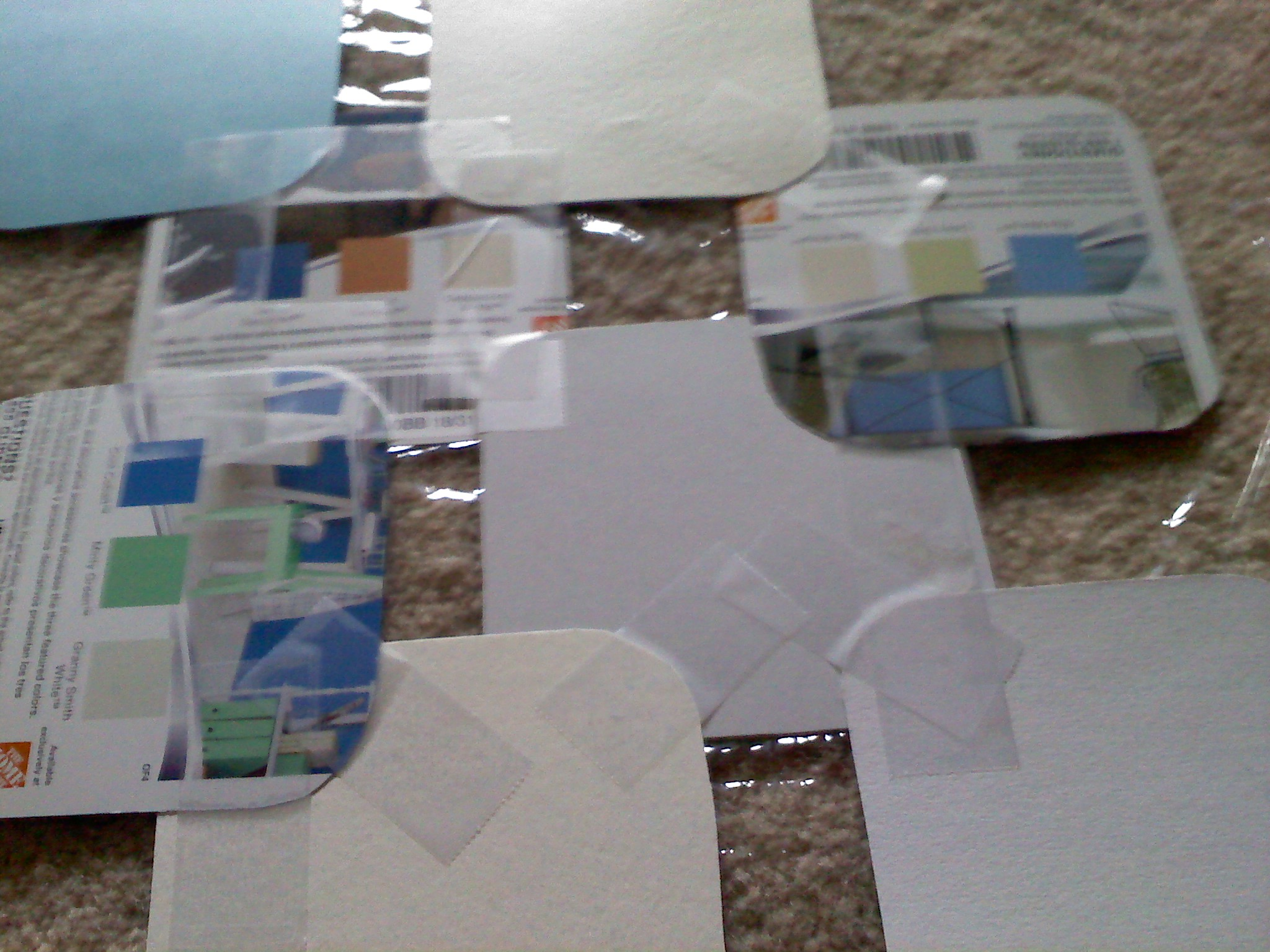 Picture of Tape the Squares Together