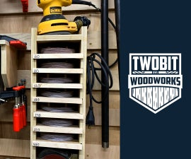 How to Build a Sanding Disk Organizer | DIY Woodworking Shop Project