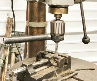 Tapping Fixture for a Drill Press