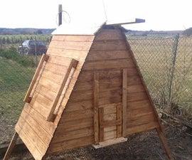 Ark Shaped Chicken Coop