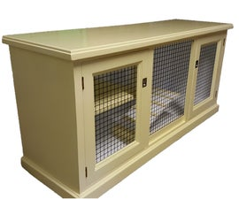 Upcycling Furniture Into a Pet Enclosure