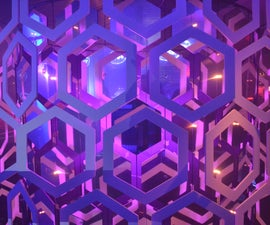 Giant Honeycomb Chandelier {step by step version}