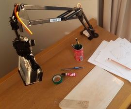 DIY Articulating Arm Mount for Phone or Camera
