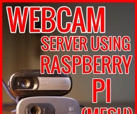Multiple Webcam Server With Motion Detection Using Raspberry Pi