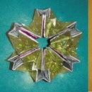 Pocket paper kaleidoscope toy