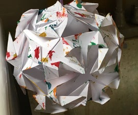 Homemade for the Holidays: Origami Snowflakes