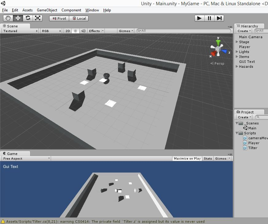 How To Make A Simple Game In Unity 3D : 12 Steps